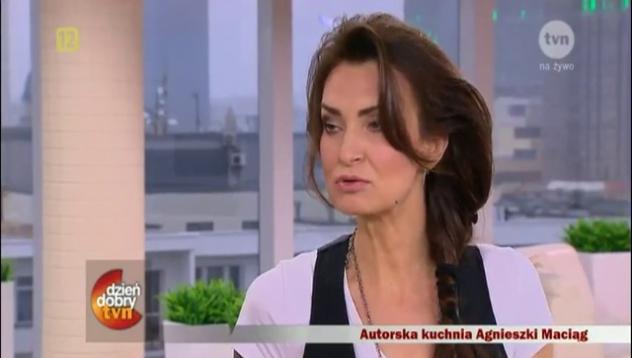 Co jada Agnieszka Maciąg?