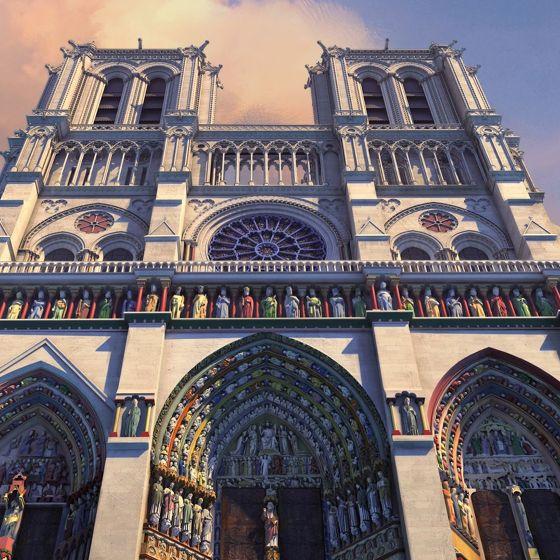 Jak budowano Notre-Dame