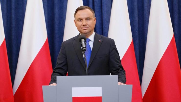 """Polska w obliczu koronawirusa. Andrzej Duda w programie """"Gość Wydarzeń"""""""
