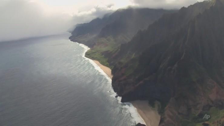 Katastrofa helikoptera na Hawajach. Odnaleziono ciała 6 ofiar