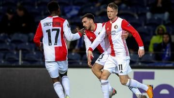 Eredivisie: Trzy gole Berghuisa. Feyenoord lepszy od PSV Eindhoven