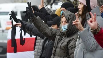 Protesty na Białorusi. Użyto grantów hukowych i gumowych kul