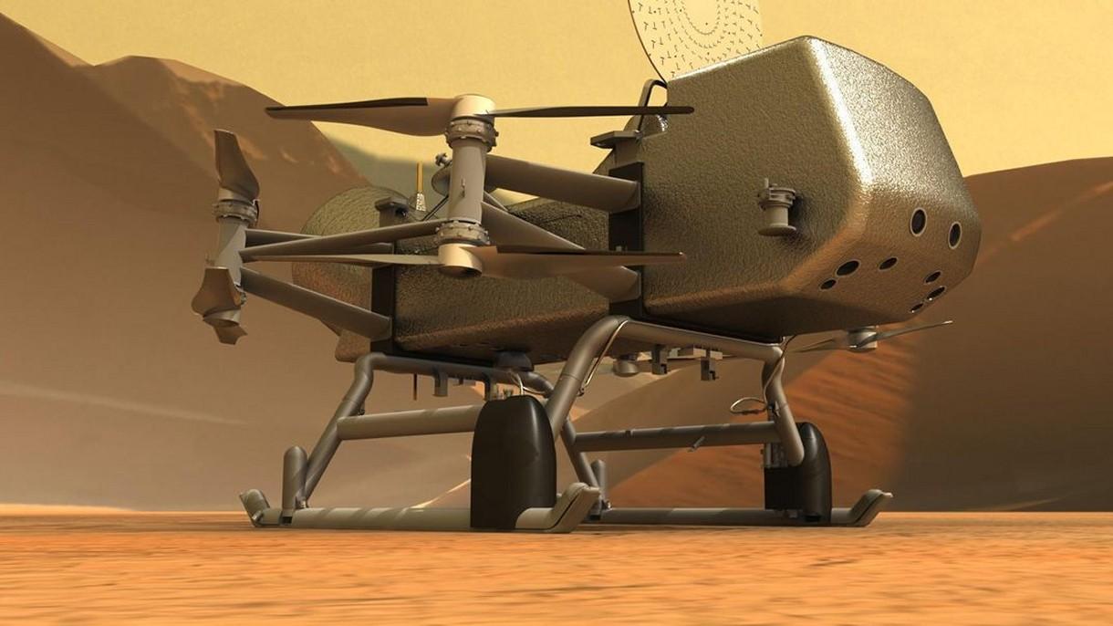 NASA ogłosiła, kiedy wyśle pierwszy dron na Tytana, księżyc Saturna [FILM]