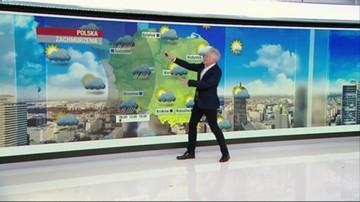 Prognoza pogody - piątek, 5 czerwca - rano