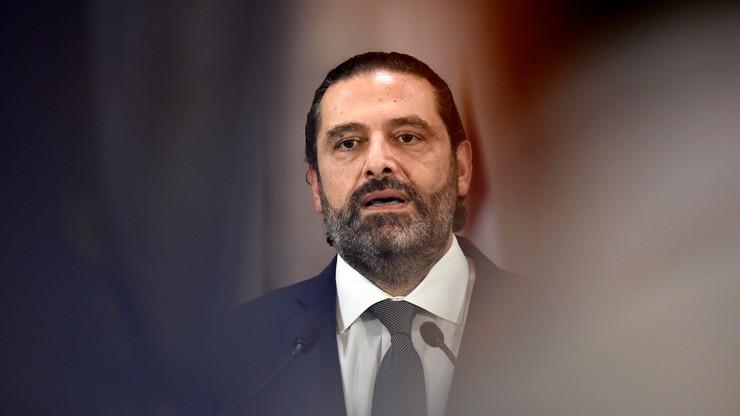 Protesty w Libanie. Premier ogłasza dymisję swojego rządu