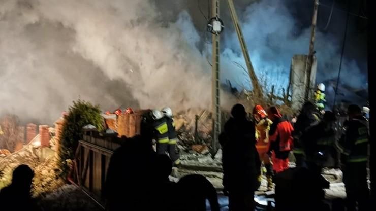 Wybuch gazu w Szczyrku. Zawalił się dom, w którym mogło być osiem osób [ZDJĘCIA]