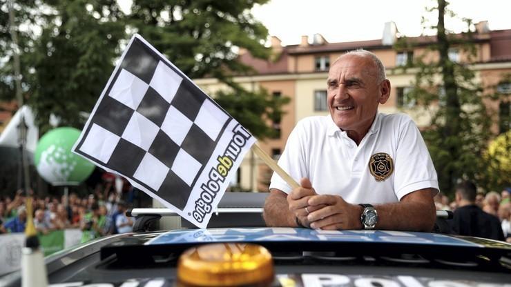 Czesław Lang o wypadku na Tour de Pologne: Jedyną stroną, która może mieć pretensje, jesteśmy my jako organizatorzy