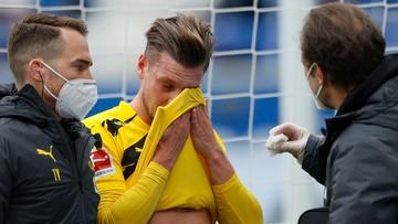 Łukasz Piszczek doznał kontuzji oka! Musiał opuścić boisko na początku meczu z Hoffenheim
