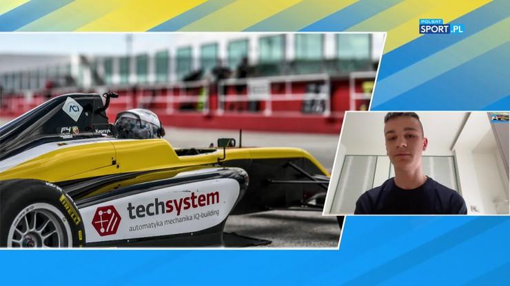 Mateusz Kaprzyk o startach w Formule 4: Lubię wyzwania