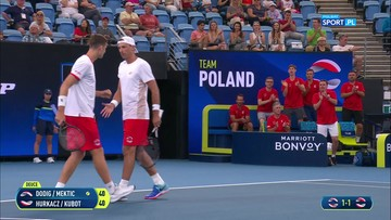 Ivan Dodig/Nikola Mektić - Hubert Hurkacz/Łukasz Kubot 2:0. Skrót meczu