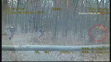 Grupa SPEED: na piechotę gonili motorowerzystę. Efekt pościgu chyba ich zaskoczył [WIDEO]