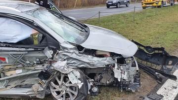 Miał tylko wymienić olej. Mechanik postanowił jednak przejechać się autem. I stało się
