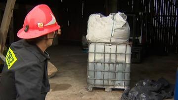 Nielegalne składowisko odpadów chemicznych. Ponad 100 beczek i 45 mauzerów