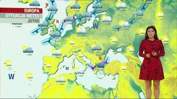 Prognoza pogody - czwartek, 6 sierpnia - popołudnie