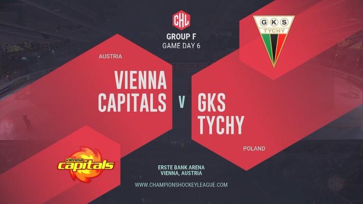 Vienna Capitals – GKS Tychy 5:2. Skrót meczu