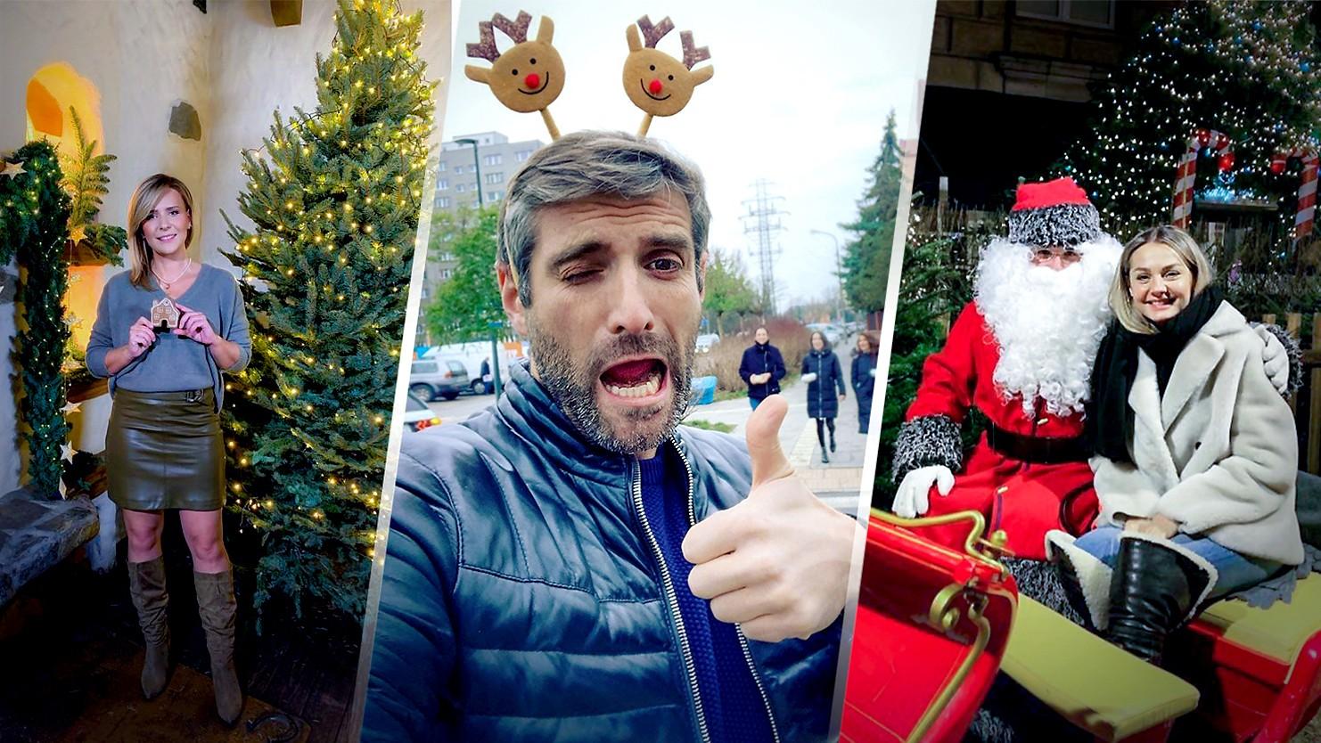 Mikołaj, choinka i Święta gwiazd Telewizji POLSAT
