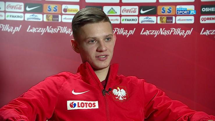 2019-10-08 Szymański: Chcemy odzyskać pewność siebie przed ostatnimi dwoma spotkaniami eliminacji
