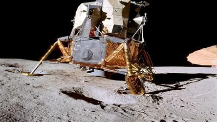 07.07.2020 04:00 Tak niesamowicie wyglądała misja Apollo 14. Film z lądowania, spaceru i odlotu [FILM]