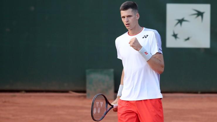Ranking ATP: Minimalny spadek Hurkacza, awans Majchrzaka i Kubota