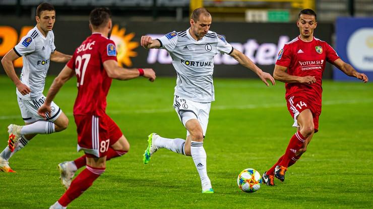 Skrót meczu Miedź - Legia