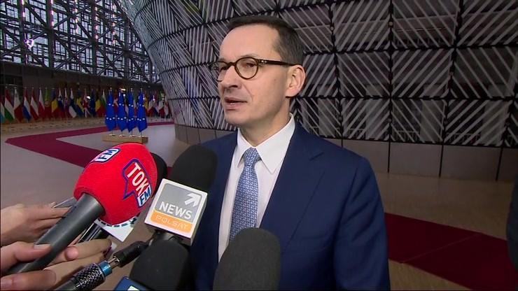 """""""Podkreślamy argument sprawiedliwej transformacji energetycznej"""" - Premier Mateusz Morawiecki na szczycie UE"""