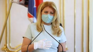 Prezydent Słowacji w kwarantannie. Jej współpracownik miał kontakt z zakażonym