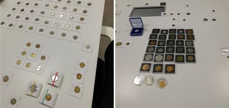Kolekcja 5 tysięcy monet kolekcjonerskich różnych walut