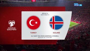 Turcja - Islandia 0:0. Skrót meczu