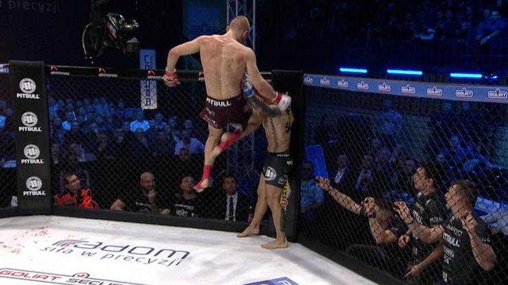 Babilon MMA 11: Miażdżące kolano! To może być nokaut roku (WIDEO)