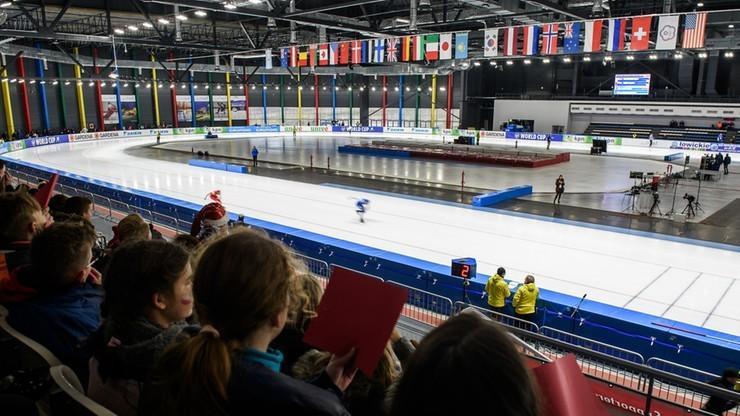 Puchar Świata w łyżwiarstwie szybkim w Tomaszowie Mazowieckim odwołany