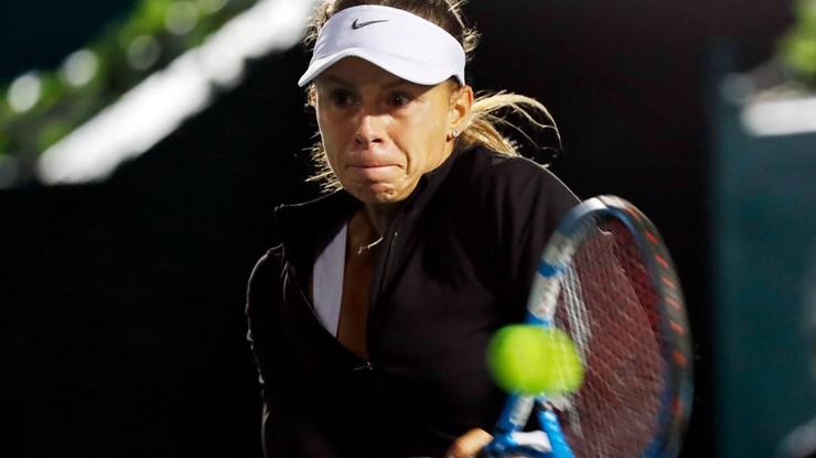 WTA w Tiencinie: Tylko cztery gemy i awans Linette do ćwierćfinału