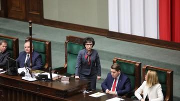 Wnioski o odwołanie Witek i do prokuratury. Po ponownym głosowaniu w Sejmie