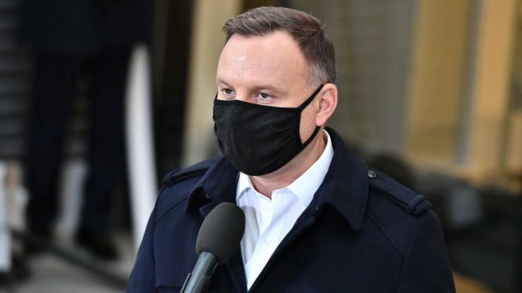 """Andrzej Duda ma koronawirusa. """"Przepraszam narażonych na kwarantannę"""""""