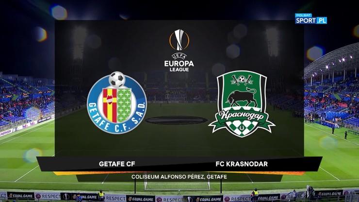 FC Getafe - FK Krasnodar 3:0. Skrót meczu