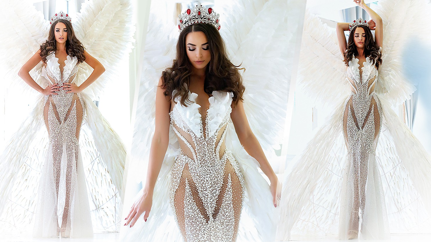 Zjawiskowa suknia Miss Polski na konkurs Miss Universe 2019