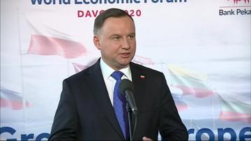 Światowe Forum Holokaustu. Prezydent Andrzej Duda zabrał głos