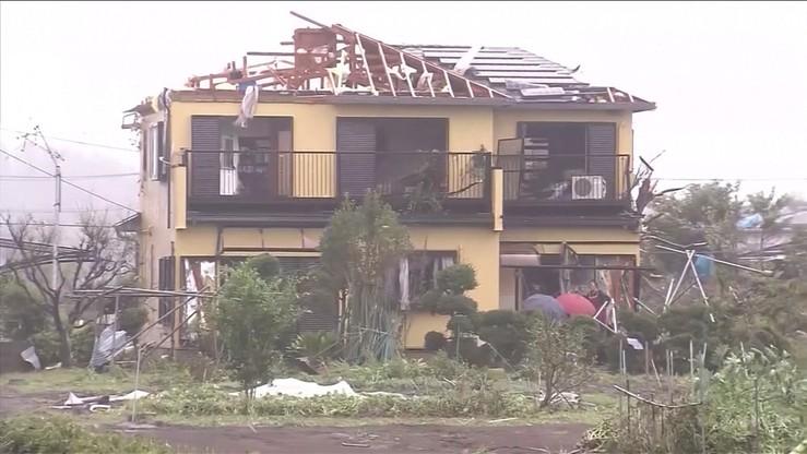 Dziewiętnaście ofiar tajfunu Hagibis w Japonii. Kraj nawiedziło też trzęsienie ziemi
