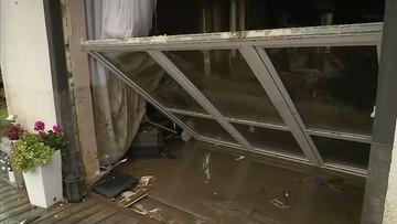 Wezbrana woda zalała Łapanów, niszcząc domy i obiekty publiczne. Powołano sztab kryzysowy