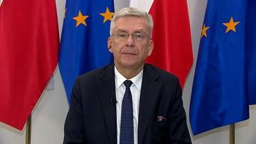 """""""Senat nie ma takich kompetencji"""". Karczewski o wezwaniu Banasia przed komisję"""