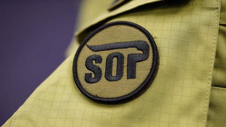 Funkcjonariusz SOP zatrzymany w centrum Wrocławia. Posiadał narkotyki