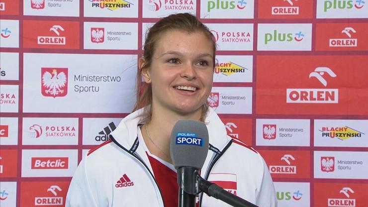 Monika Fedusio: Chciałyśmy wejść w mecz zdecydowanie inaczej, niż wczoraj
