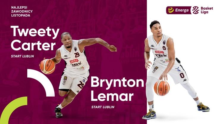 EBL: Carter i Lemar koszykarzami listopada
