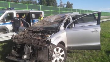 Śmiertelny wypadek na autostradzie A1. Sprawcy uciekli
