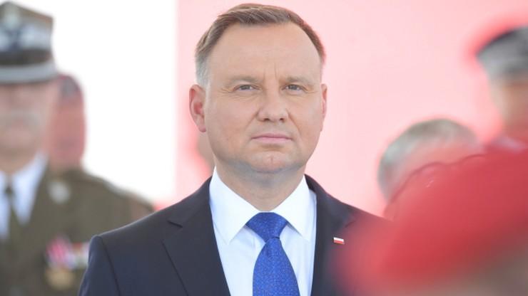 Prezydent Duda: Platforma nie potrafi uszanować wolnych wyborów