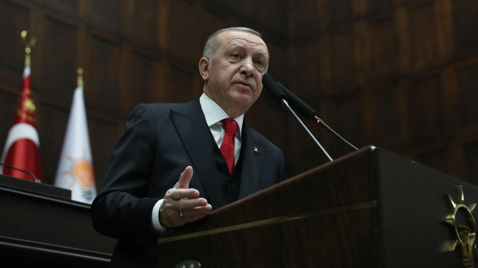 Recep Tayp Erdogan, prezydent Turcji