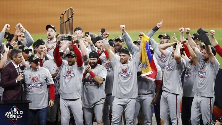 MLB: Baseballiści Washington Nationals po raz pierwszy mistrzami