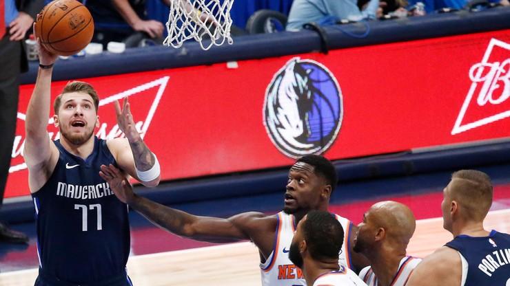 NBA: Dobra passa Mavericks. Doncic jak Jordan!