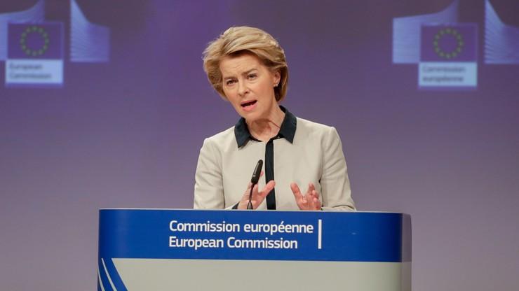 Szefowa Komisji Europejskiej: tymczasowe ograniczenia podróży w UE