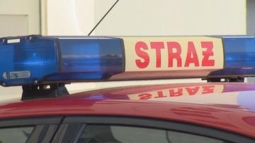 Pożar w bloku w Katowicach. Zarządzono ewakuację, znaleziono zwłoki