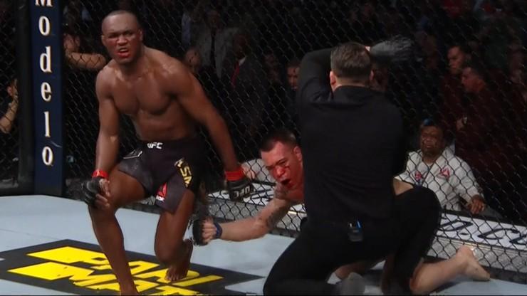UFC 245: Zła krew przelana! Usman znokautował Covingtona